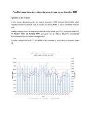Poročilo trgovanja december 2015