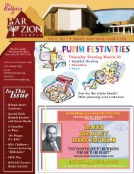 Issue Issue - Har Zion Temple