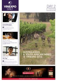 Vinexpo Daily - Day 2
