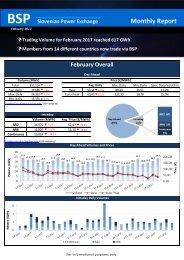 Trading report February 2017