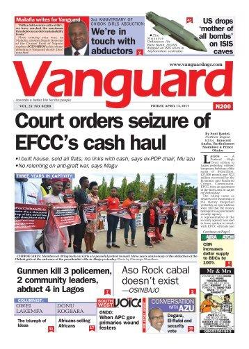 14042017 - Court orders seizure of EFCC's cash haul