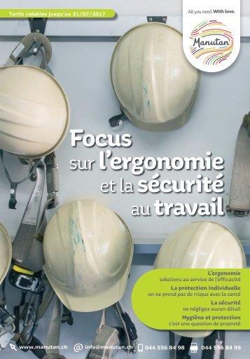 Ergonomie et sécurité au travail