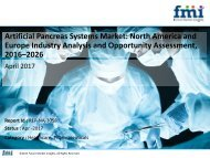 Artificial Pancreas Systems Market size in terms of volume and value 2016-2026