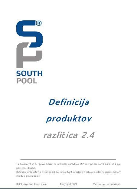Definicija produktov