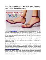 Buy Fashionable and Trendy Women Footwear and Shoes for Ladies Online