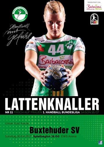 Lattenknaller 11 - 18.04.2017 - SAISON 2016/17 - FRISCH AUF Frauen Bundesliga