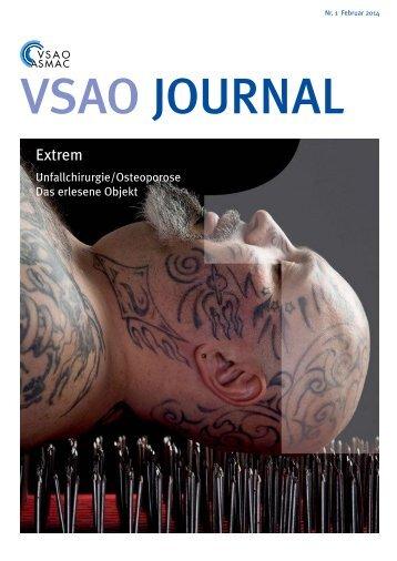 VSAO JOURNAL Nr. 1 - Februar 2014