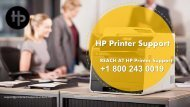 How to Fix HP Printer Error Code 0xc19a0013|1800-243-0019 HP Support