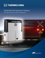Refrigerated Rail Application Solutions - Thermo King