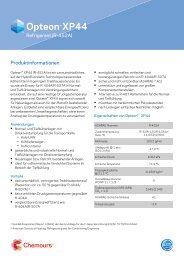 Das Kältemittel R452A (Opteon-XP44)