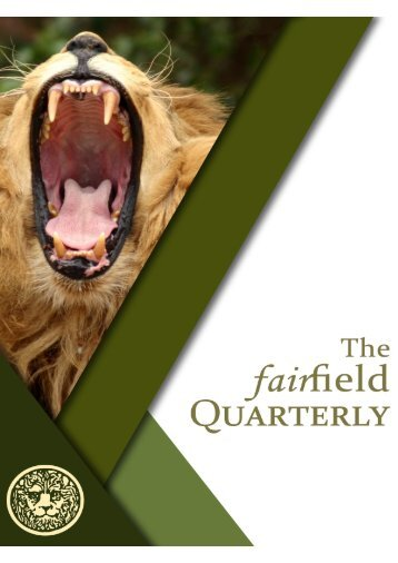 The Fairfield Quarterly 001