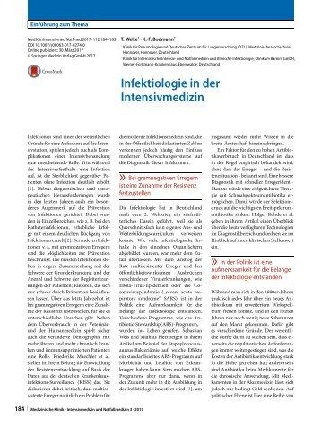 02 Editorial Infektiologie in der Intensivmedizin