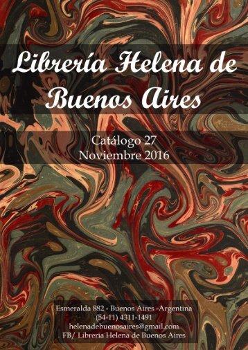 Cat. 27 - Helena de Buenos Aires
