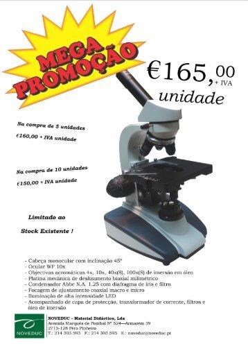 Promoção Microscópio