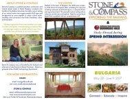 Stone & Compass: CSUDH Study Abroad Bulgaria Brochure