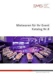 event-mietservice Katalog 8.0 (UVP)