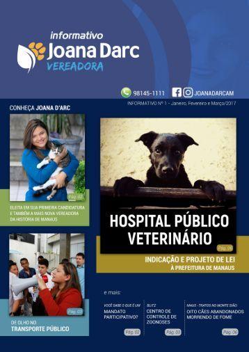INFORMATIVO - 3 MESES DE MANDATO - VEREADORA JOANA D'ARC