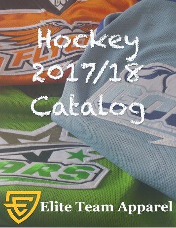 Hockey 2017_2018 Catalog