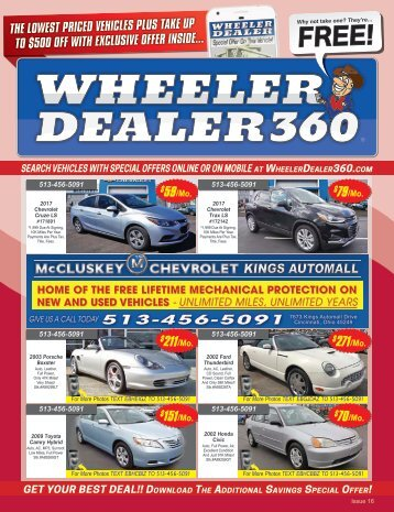 Wheeler Dealer Issue 16, 2017