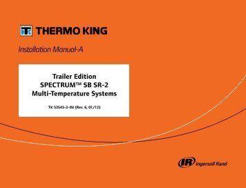 Installation Manual-A - Thermo King