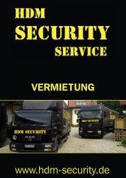 HDM-Security - KATALOG