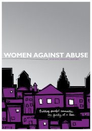 2% - Women Against Abuse
