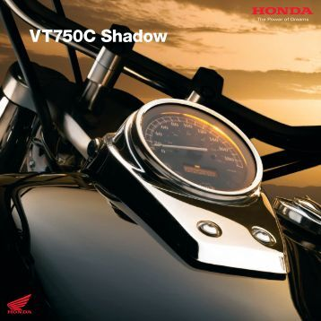 VT750C Shadow - Doble Motorcycles