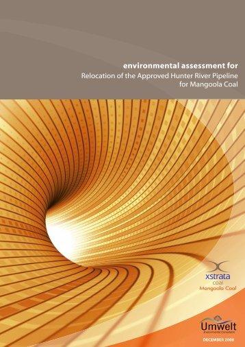 environmental assessment for - Xstrata Coal Mangoola