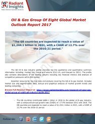 Oil & Gas Group Of Eight Global Market Outlook Report 2017