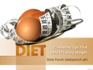 10 Healthy Tips That Help In Losing Weight