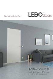 Die LEBO-Türenkollektion 2017
