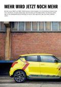 Suzuki SWIFT Zubehörprospekt - Page 2