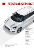 Suzuki SWIFT Zubehörprospekt - Page 4
