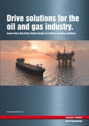 maxon motor - HD drive solutions for oil & gas industry_2016