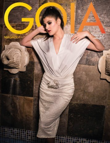 GOIA MAGAZINE ABRIL