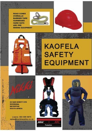 KAOFELA SAFETY EQUIPMENT