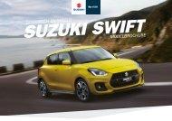 Suzuki Swift modelbrochure