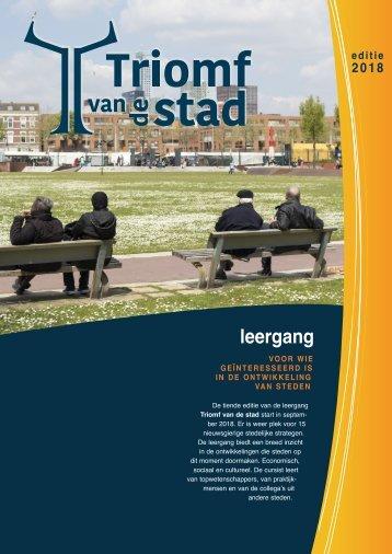 Triomf van de stad 2018-19 folder