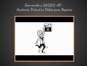 Asistencia Virtual para Multimedia (emprendimientos)