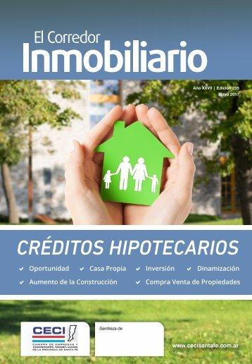 El Corredor Inmobiliario Edición 235 Mayo 2017