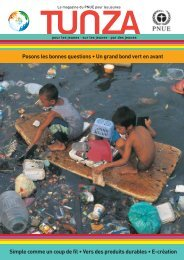 Des villes pleines de ressources Comme chacun sait, les ... - UNEP