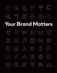 Your Brand Matters (04/19/17, Test)