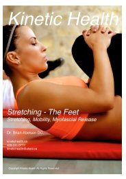 Stretching - The Feet