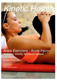 Ankle Exercises - Acute Injury