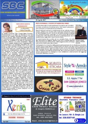 giornale aprile