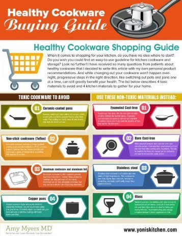 Healthy Cookware Buying Guide for 2017