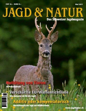 Jagd & Natur Ausgabe Mai 2017 | Vorschau