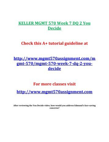 MGMT 570 WEEK 2 HOMEWORK LSI CONFLICT PAPER