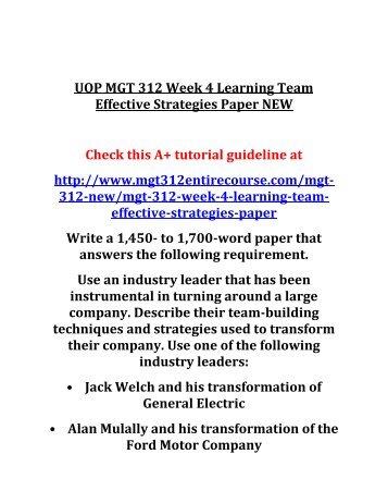 Mgt312 week1