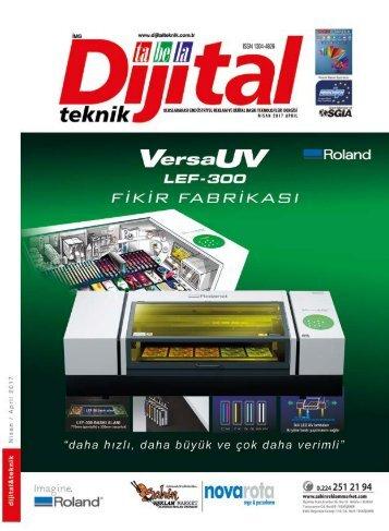 Dijital Teknik Dergisi – Nisan 2017 Sayısı